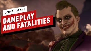 Mortal Kombat 11 - Joker Gameplay and Fatalities