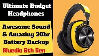 Ultimate Budget Headphones & Speaker that will blow you off your feet! Bluedio 6th series