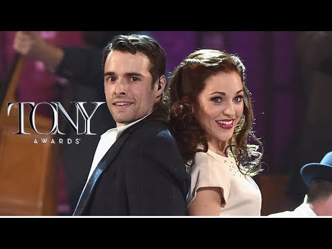 "Laura Osnes and Corey Cott — ""Nobody"" — Bandstand, Tonys 2017 performance"