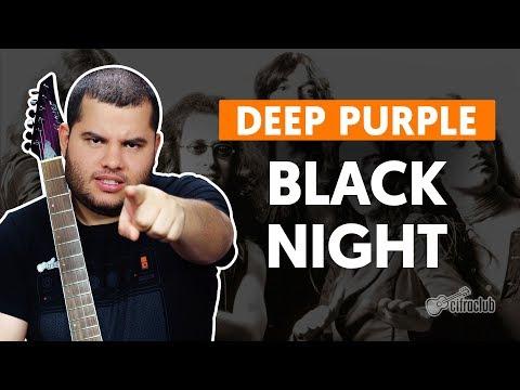 BLACK NIGHT - Deep Purple (aula de guitarra)