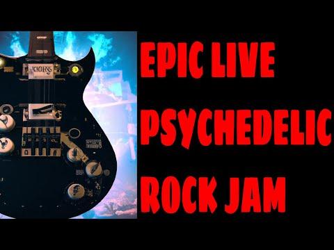 Zeppelin Jam: Heavy Dorian Shred Goodness - 25 minutes! [D Dorian - 60 bpm]