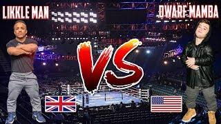 Likkle Man Vs Dwarf Mamba Youtube Boxing Match - KSI Vs Logan Paul Under Card The Fight Is On