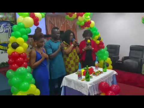 My birthday in Ghana style