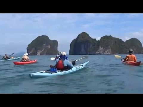 Sea Kayaking Thailand Phuket Phang Nga 2016