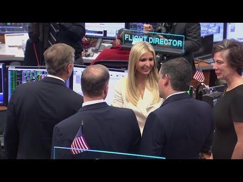 First Daughter & adviser Ivanka Trump,  Senator Ted Cruz visit Johnson Space Center