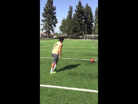 Andrew Rodriguez 61 yard field goal St. John Bosco high school CA c/o16