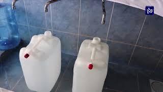 95 %  من محلات بيع المياه في معان تعتمد مياه السلطة