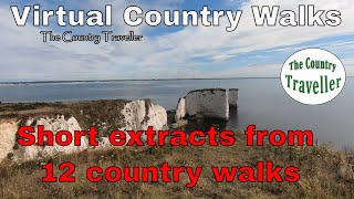 Treadmill Scenery Virtual Walks - extracts from 12 country walks during all 4 seasons of the year