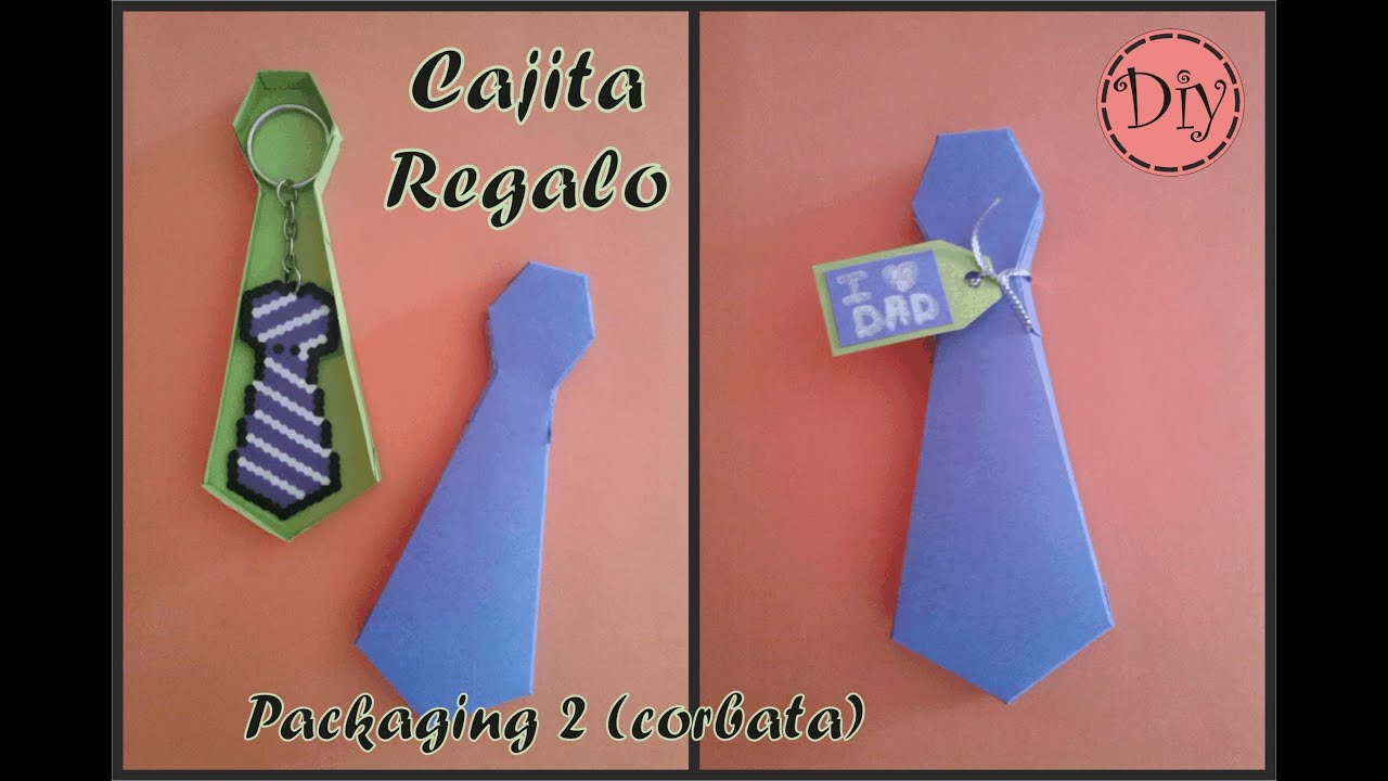 Cajita Regalo - Packaging 2 (corbata) - YouTube