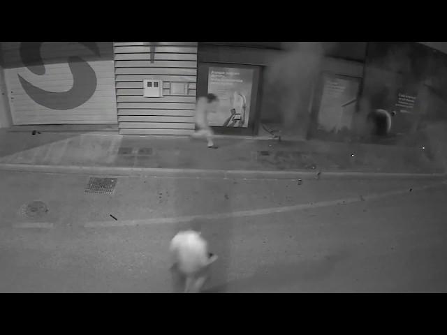 Explosión de cajero