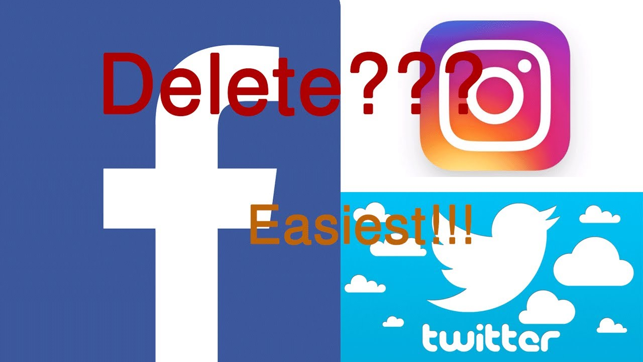How To Delete Facebook Account Quickly  2017