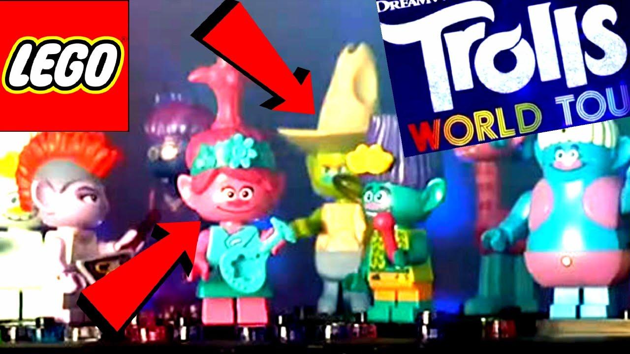 Lego Trolls World Tour 2020 Minifigures Reaction Lego Trolls Vs