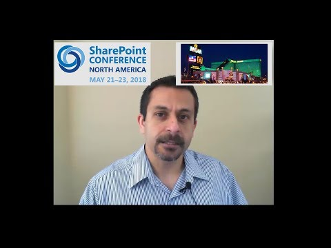 Join us for the exciting return of the SharePoint Conference in Vegas!