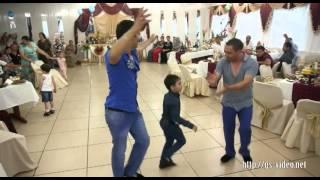 Цыганское веселье - танцы. Лёша и Алёна