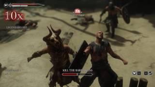 Ryse: Son of Rome Gameplay - Gladiator Game Mode
