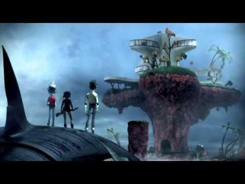 Gorillaz- Pirate Jet (Music Video)