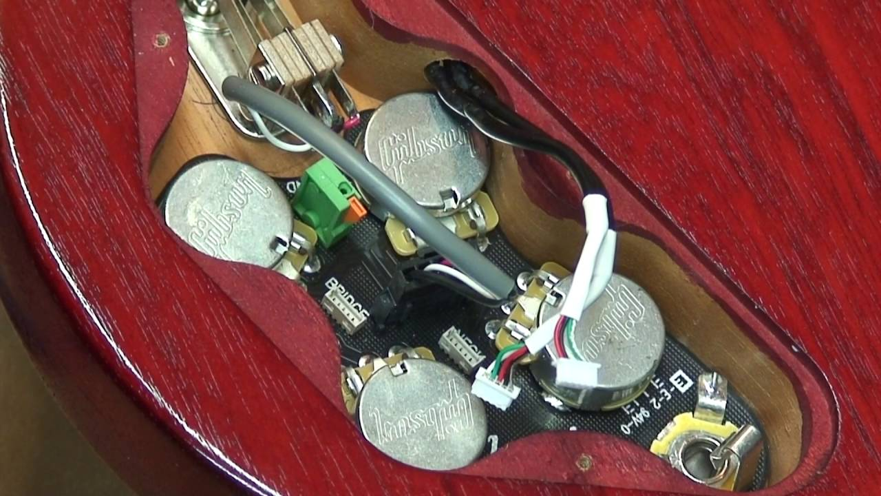 Cts 550k Sg Wiring Kit Complete Fits Gibson And Epiphone Reverb