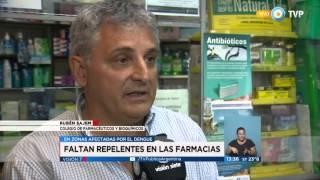 Visión 7 - Faltan repelentes en farmacias
