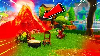 🔴 FORTNITE CUBE VOLCANO EVENT RIGHT NOW AT LOOT LAKE!? Cube Event LIVE! (Fortnite Battle Royale)