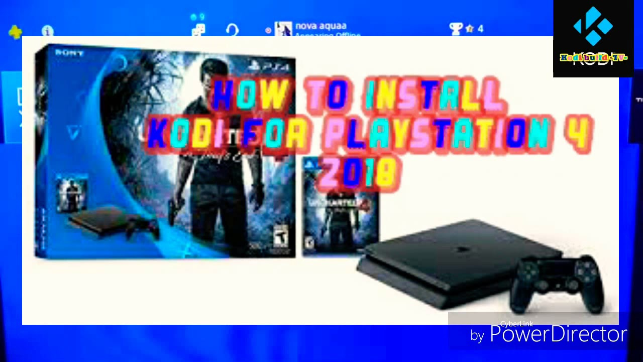 Kodi build TV 📺 -How to install kodi On PlayStation 4 webm 2018👍😊 - YouTube