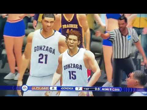 #1 Gonzaga Vs #16 Prairie View A&M - 2020 NCAA Tournament 1st Round! NCAA Basketball 10 Simulation!