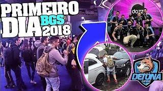 DETONA GAMING, TIME de CS:GO na BGS 2018 - o PRIMEIRO DIA ‹ CSRVlog ›