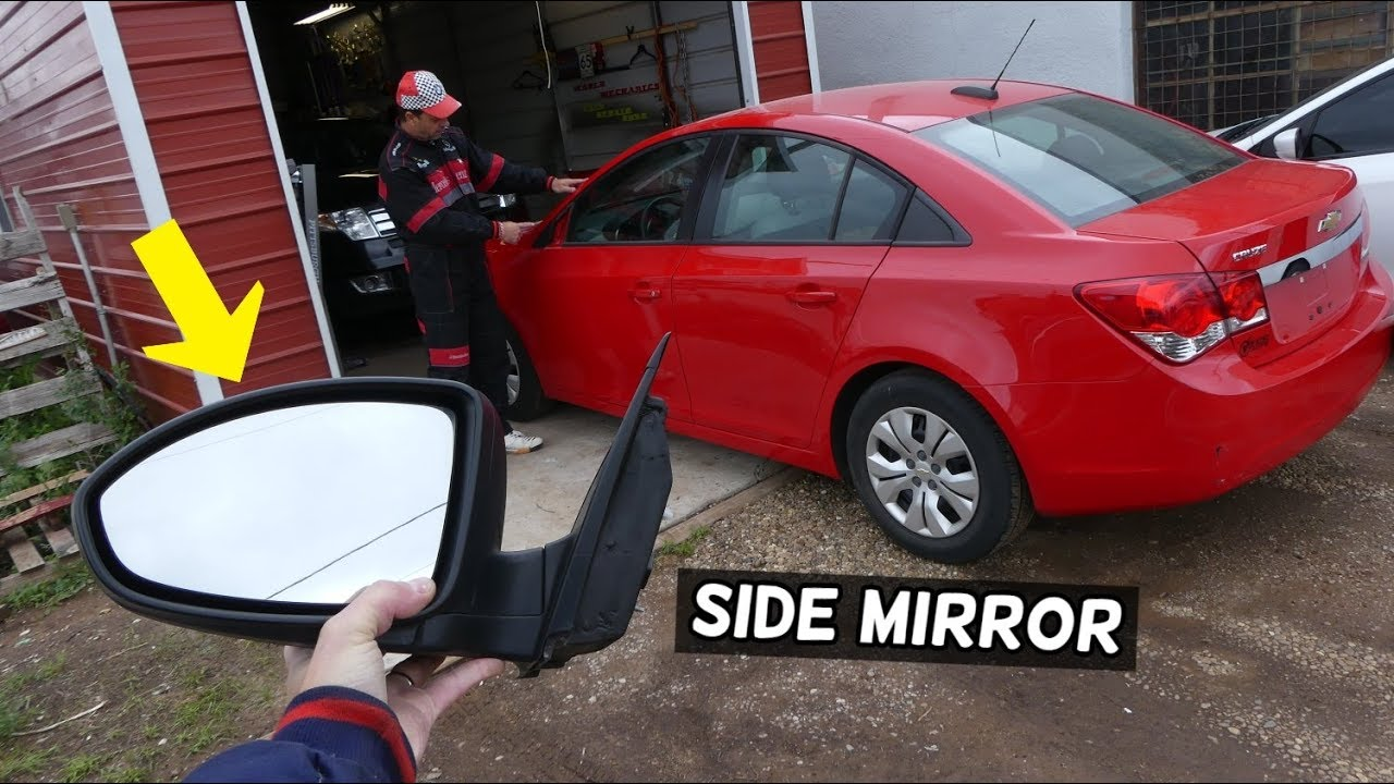 Chevrolet Cruze Side Mirror Removal Replacement Side View Mirror Chevy Cruze Youtube