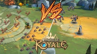 100 MONSTROS VS 2 HEROI - MOBILE ROYALE  (BLUE STACKS 4)