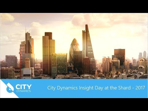 City Dynamics Insight Day at the Shard - 2017