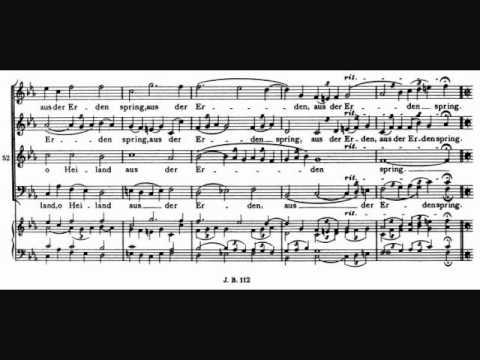 Brahms - O Heiland reiß die Himmel auf, motet, Op. 74 No. 2