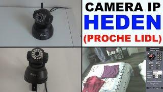 camera ip lidl (ou presque!) heden 2.2 visioncam surveillance ip proche aldi maginon ipc-10 ac