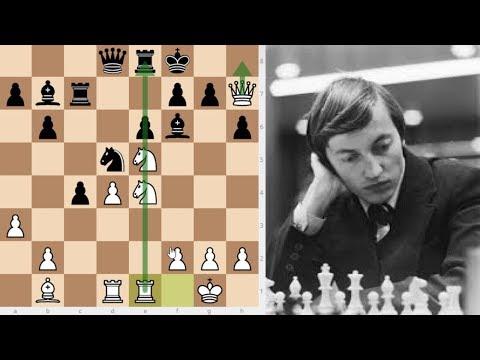 Attack And Don't Look Back, Ivkov vs Karpov, International Tournament Caracas 1970