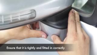 Perodua Alza Door Mirror Installation Steps