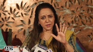 Angry Hema Malini on Offending REMARKS – I will take action against it