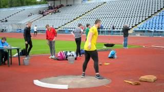 видео: Толкание Ядра Юноши