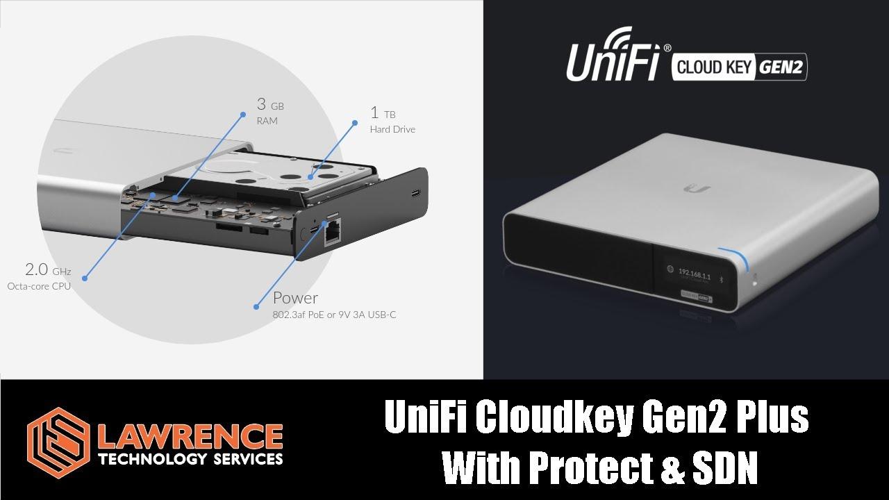 UniFi Cloudkey Gen2 Plus with UnFi Protect & UniFi SDN Review