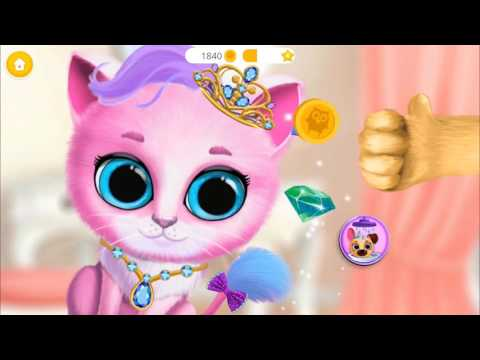 Take Care Of Cutest Pet Friends Kittlen and Puppy - Baby Fun Kids Games