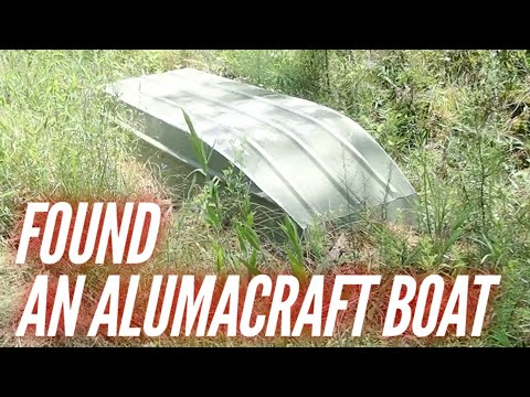 I FOUND AN ALUMACRAFT JON BOAT 😲😲😲at Hollis Farms