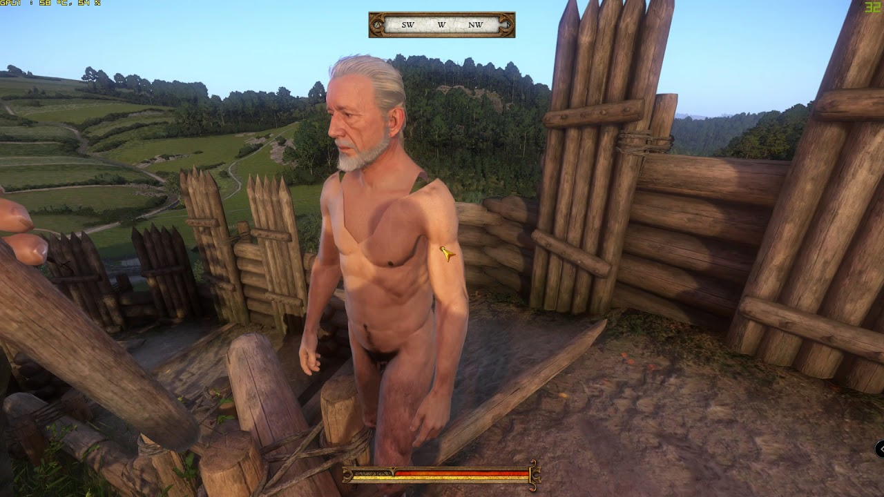 Found a naked sir hans capon