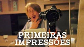 Baixar ESTABILIZADOR DE IMAGENS DJI OSMO COM A CAMERA X5 - Primeiras impressões