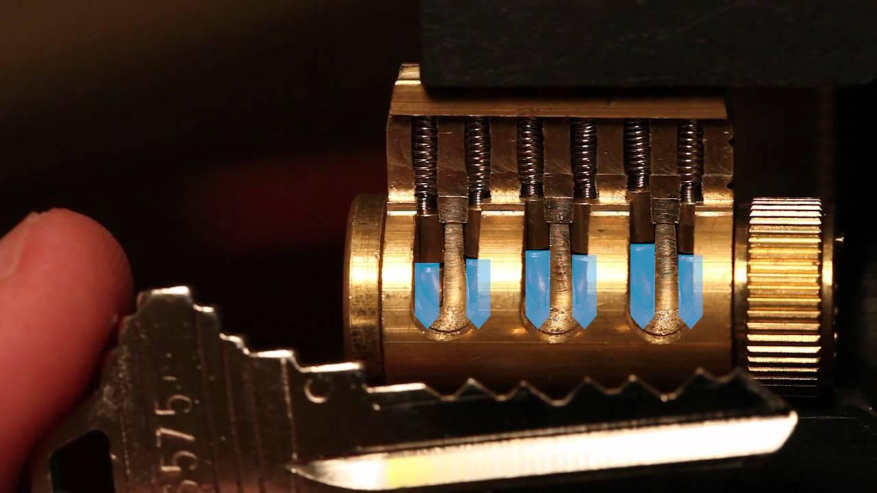 04 How Pin Tumbler Locks Work Youtube