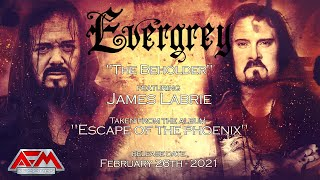 EVERGREY - The Beholder (feat. James LaBrie) (2021) // Official Lyric Video // AFM Records