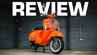 AJS Modena Road Test and Review! (Brett's FAVOURITE Scooter!?)