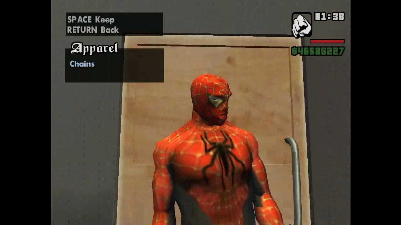 spider man mod in gta san download ( mediafire link ) - youtube