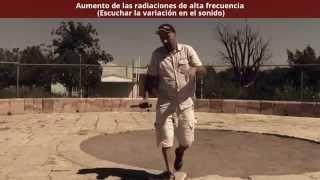 Geobiología, Investigación  de radiaciones artificiales en el Foco Tonal de San Lorenzo 3/4