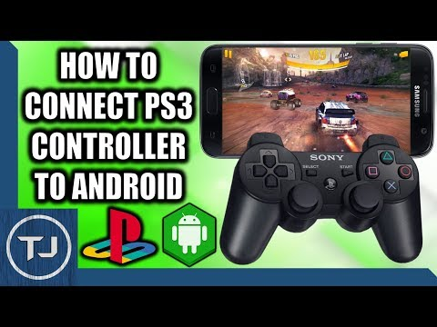 How To Connect PS3 Controller To Android! (Without Root)