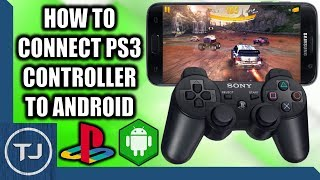 how to connect PS3 controller to Android with Sixaxis Controller app (Needs root and bluetooth)