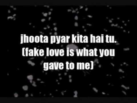Bewafa -imran khan remix by DJ AHMY and with lyrics