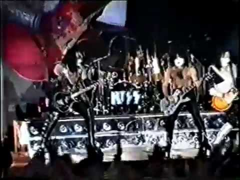 Kiss Live In Finsbury Park London 7/5/1997 Full Concert Reunion Tour