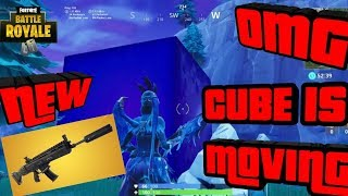 *NEW* FORTNITE ITEM SHOP COUNTDOWN + NEW SUPPRESSED ASSAULT RIFLE + CUBE WATCH